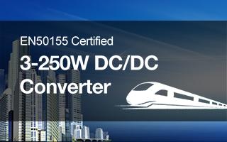 Stromversorgung für den Schienenverkehr 3-250W