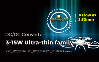 3-15W Ultra-thin family DC/DC Converter