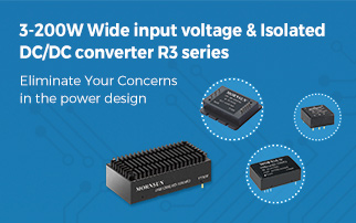 3-200W Wide Input Voltage&Isolated DC/DC Converter R3 Series