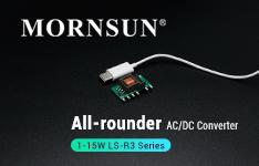 Mornsun 1-15W AC-DC Converter LS-R3 Series