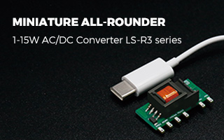 Miniature All-rounder AC/DC Converter LS-R3 Series