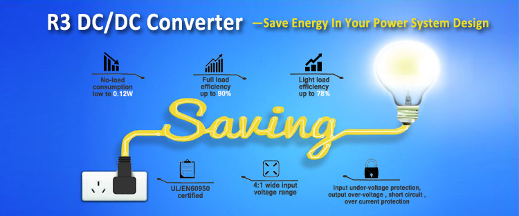 MORNSUN Latest R3 DC/DC Converters Save Energy in Your Power