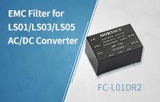 EMC Filter for LS01/LS03/LS05 AC/DC Converter——FC-L01DR2