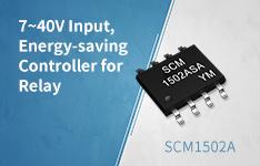 7~40V Input, Energy-saving Controller for Relay -SCM1502A