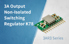3A Output Non-Isolated Switching Regulator K78_3AR3 Series