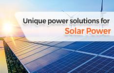 Mornsun Provides Unique Solutions to Solar Power