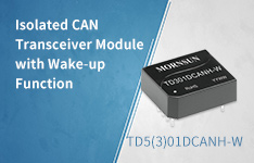 Isolated CAN Transceiver Module with Wake-up Function—TD5(3)01DCANH_W