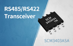 12Mbps,3.3~5V Powered, Half-duplex RS485 Transceiver——SCM3403ASA