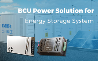 Innovative BCU power solution for energy storage system