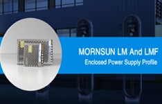 Mornsun 35-350W AC/DC Enclosed Switching Power Supplies