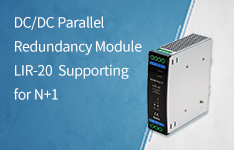 DC/DC Parallel Redundancy Module LIR-20 Supporting for N+1