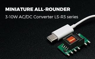 Miniature All-rounder AC/DC Converter LS-R3 Series