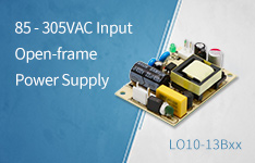 85 - 305VAC Input Open-frame Power Supply——LO10-13Bxx