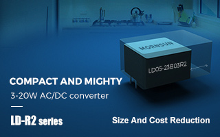3-20W Ultra-compact Cost-effective AC/DC Converter LD-R2