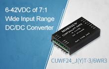6-42VDC of 7:1 Wide Input Range DC/DC Converter ——CUWF24_J(Y)T-3/6WR3 Series