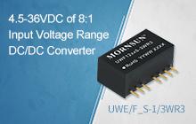 4.5-36VDC of 8:1 Input Voltage Range DC/DC Converter ——UWE/F_S-1/3WR3 Series