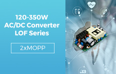 120-350W AC/DC Converter LOF Series