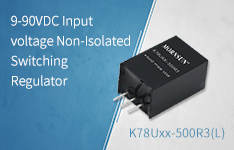 9-90VDC Input voltage Non-Isolated Switching Regulator—K78Uxx-500R3(L) Series