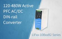 120-480W Active PFC AC/DC DIN-rail Converter ——LIFxx-10BxxR2 Series