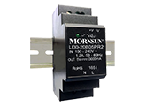 MORNSUN_AC/DC-Enclosed SMPS_Plastic DIN Rail LI (30-100W)