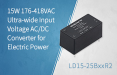 15W 176-418VAC Input Voltage AC/DC Converter for Electric Power-LD15-25BxxR2 Series