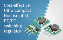 Cost-effective Ultra-compact Non-isolated DC/DC switching regulator K78xx(JT)-500R3-LB Series