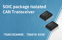SOIC-16 package isolated CAN/485 transceiver (R5 Bus IC)