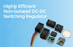 MORNSUN Highly Efficient Non-isolated DC-DC Switching Regulator