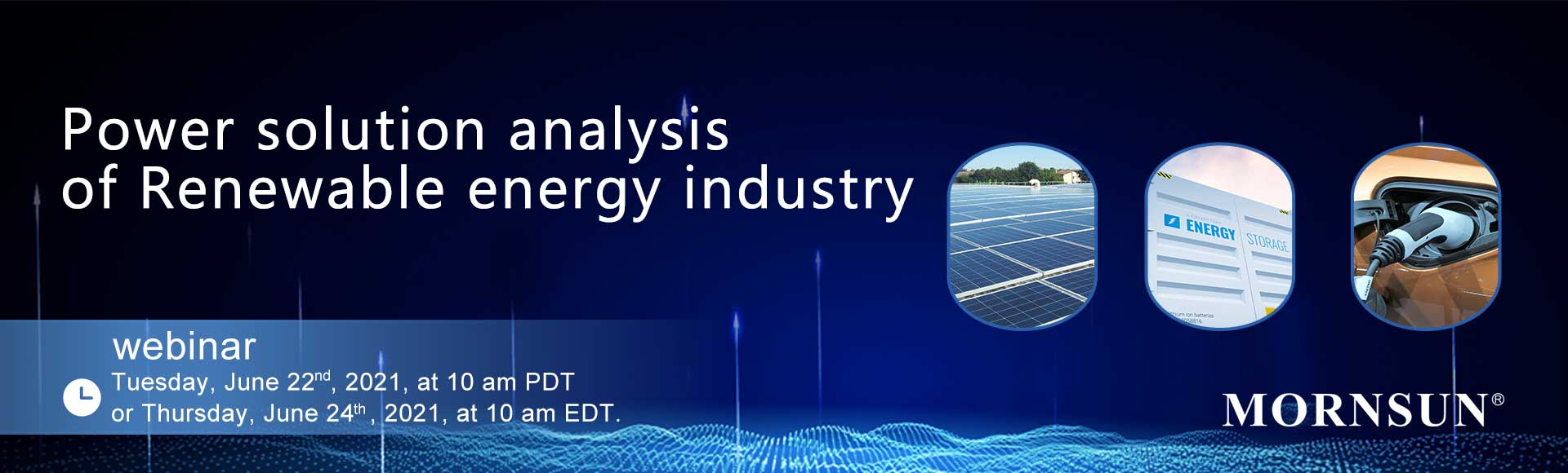 Power solution analysis of Renewable energy industry
