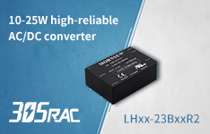 10-25W AC/DC converter LHxx-23BxxR2 with high reliability and high performance