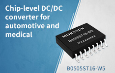 Chip-level DC/DC converter for automotive and medical--B0505ST16-W5