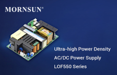 Know more about the design of the MORNSUN AC/DC Power Supply LOF550 Series