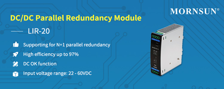 MORNSUN DCDC Parallel Redundancy Module LIR-20.jpg
