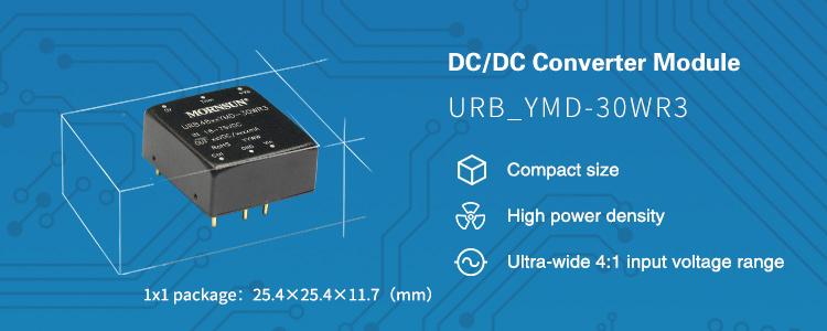 DC/DC Converter Series URB_YMD-30WR3