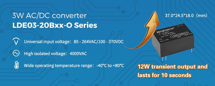 3W AC/DC converter LDE03-20Bxx-O Series