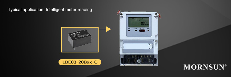 Application of 3W AC/DC converter LDE03-20Bxx-O Series