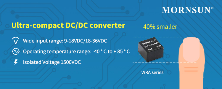 1-3W Ultra-compact Dual-output DC/DC Converter