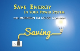 Save Energy in Your System with R3 DC/DC Converter
