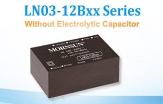 E-capless AC/DC Converter LN Series targets Extreme Temperature Environment