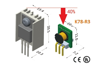 New Cost-effective Switching Regulator K78-R3