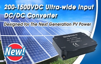 200~1500VDC Input DC/DC converter, designed for PV Power System
