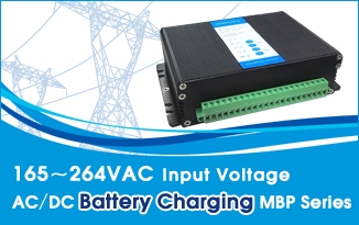 165~264VAC Input Voltage AC/DC Battery Charging MBP Series