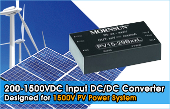 Cost-effective 200-1500VDC PV15-29BxxL Series