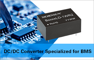 DC-DC Converters B05xxLS/LD-1WR2 Optimized for Battery Management Systems