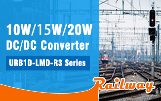 Railway DC/DC Converter URB1D-LMD-10/15/20WR3 Series