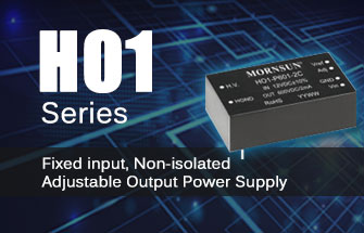 Fixed input, Non-isolated Adjustable Output Power Supply HO1 series
