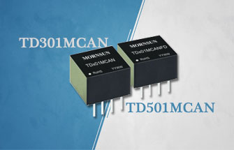 Compact Size Isolation Transceiver Module TD-MCAN/TD-MCANFD Series