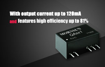 120mA DC/DC Converter QAxx1 Series Specialized for IGBT Driver