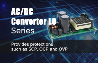 AC/DC Converter LO Series with Dual or Triple Outputs