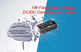 Fixed Input Voltage DC/DC Converters R3 series are to Bring the Ultimate Customer Experience